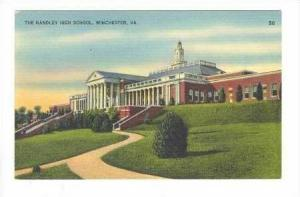 The Handley High School, Winchester, Virgina, 00-10s