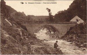 CPA CROZANT - Pont de la Sedelle (121721)