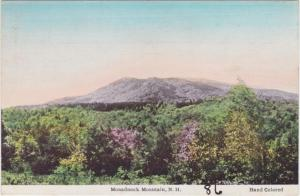 Monadnock Mountain NH, New Hampshire - Frank Swallow Hand Colored Card - DB