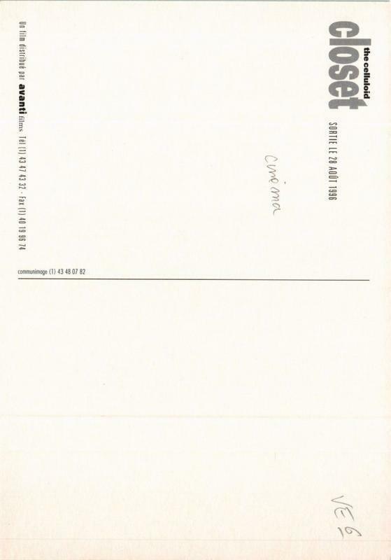 CPM AK The Celluloid Closet CINEMA FILM (781081)