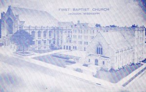 JACKSON , Mississippi , 40-50s ; First Baptist Church