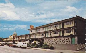 Exterior,  Crest Motor Inn,  Victoria,  B.C.,  Canada,  40-60s