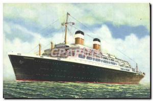 Postcard Old Ship Ship Independence