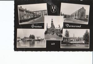 Postal 016969: HOLANDA - GROETEN uit Purmerend