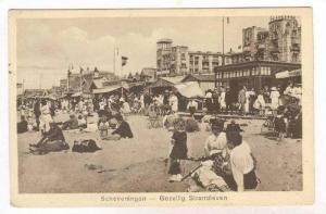Gezellig Strandleven, Scheveningen (South Holland), Netherlands, 1900-10s