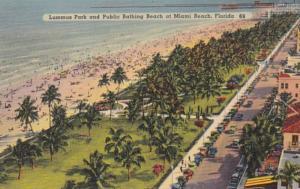 Florida Miami Beach Lummus Park and Public Bathing Beach