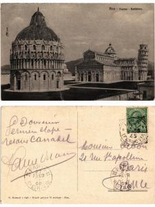 CPA PISA Duomo Battisero. ITALY (467433)