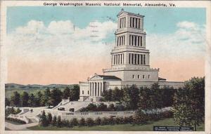 Virginia Alexandria George Washington Masic National Memorial 1924