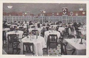 Ohio Cincinnati Fountain Room Hotel Gibson