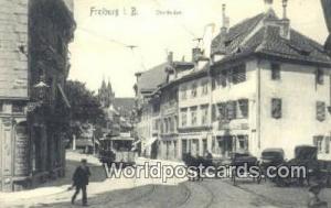 Freiburg I B Germany, Deutschland Postcard Oberlinden  Oberlinden