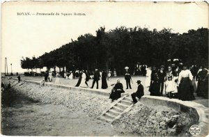 CPA ROYAN - Promenade du Square Botton (976046)