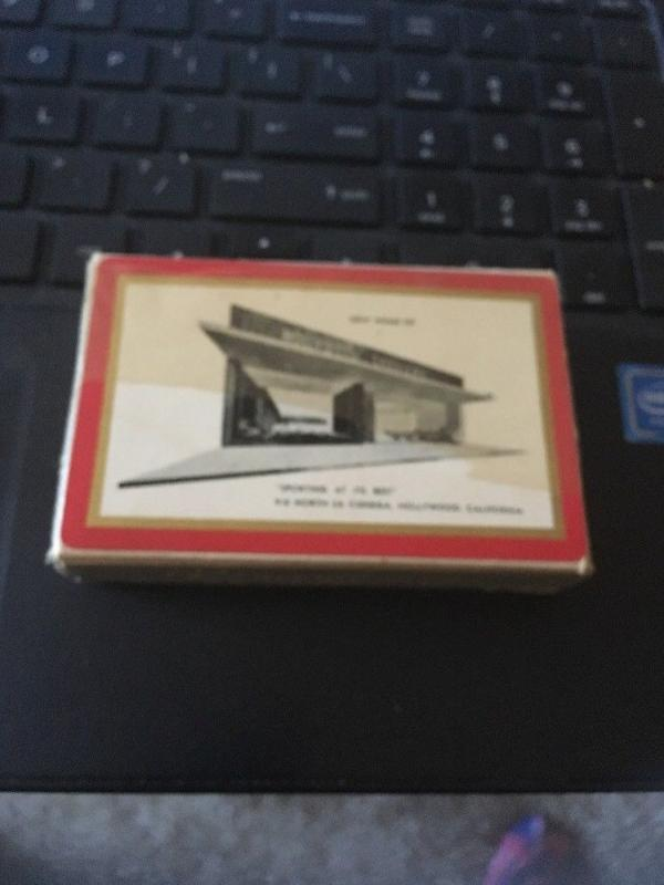 Remembrance Redi-Slip Playing Cards, Hollywood Saddlery w/ Tax stamp