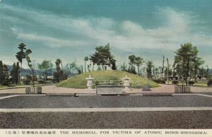 HIROSHIMA , Japan, 1940-1950s ; Memorial for Victims of Atomic Bomb