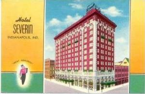 Hotel Severn, Indianapolis, Indiana, 1954