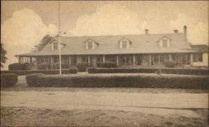 Salem NJ Country Club Old Postcard