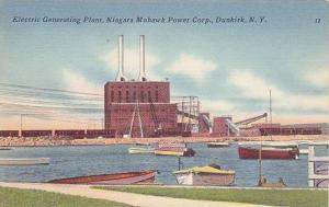 Electric Generating Plant, Niagara Mohawk Power Corp., Dunkirk, New York,  30...