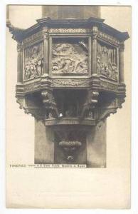 RP,Interno di S. Croce-Pulpito-Benedetto,F irenze,Italy 00-10s NPG