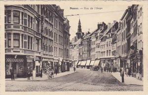 Rue De l'Ange, Showing E. Deheneffe Architecte, Namur, Belgium, 1900-1910s