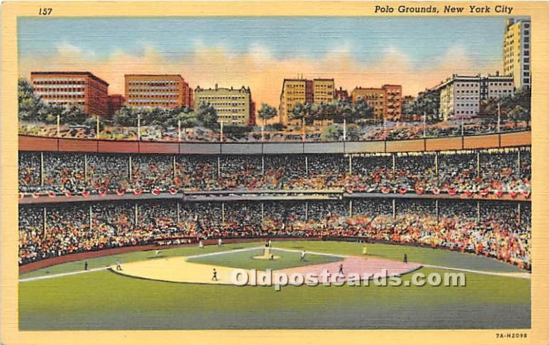 Polo Grounds New York City, NY, USA Unused