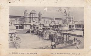 Bridge In Court Of Honour, Franco-British Exhibition, London, England, PU-1908
