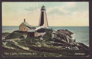 Lighthouse,Yarmouth,Nova Scotia,Canada Postcard