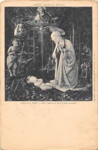 Fra Filippo Lippi Maria mit dem Kinde Konigl Museum Berlin