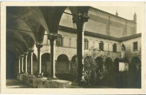 Italy, Verona, Chiesa di S. Bernardino, Il Chiostro RPPC