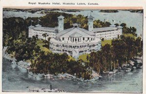 MUSKOKA, Ontario, Canada, 1900-1910's; Royal Muskoka Hotel, Muskoka Lakes