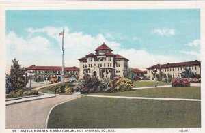 HOT SPRINGS , South Dakota, 1910-20s; Battle Mt Sanatorium