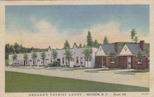 North Carolina Madison Grogans Tourist Court