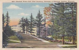 Wisconsin Madison Elizabeth Waters Hall Girls' Dormitory University Of W...