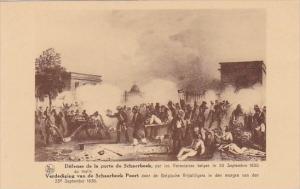 Belgium Brussels Defense de la porte de Schaerbeek