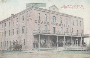 NORTH PORTAL , Sask. , Canada , 1911 ; Grand View Hotel