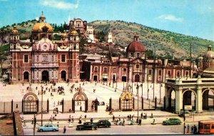 Mexico Ciudad Basilica de Guadalupe