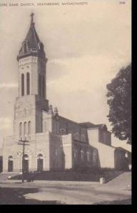 Massachusetts Southbridge Notre Dame Church Albertype