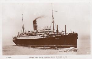RP, Steamer/Oceanliner/Ship, Cunard Line R.M.S. Ausonia Gross Tonnage 14,000,