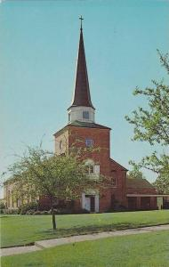 Exterior, Brown Memorial Chapel, Centenary College, Shreveport,  Louisiana,  ...