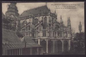 L'Abside de la Cathedral,Antwerp,Belgium Postcard