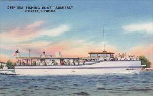 Florida Cortez Deep Sea Fishing Boat Admiral