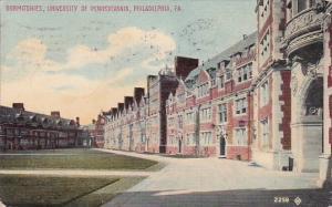 Pennsylvania Philadelphia Dormitories University Of Pennsylvania 1912