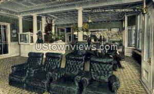 Lobby at Clegg's Hotel in Greensboro, North Carolina