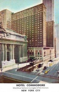 New York City Hotel Commodore 1955