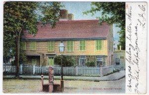 Salem, Mass, Witch House