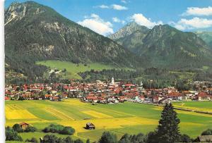 Oberstdorf Allgaeu mit Schattenberg Gesamtansicht Panorama
