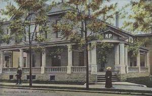 Indiana Huntington K. Of P. Lodge House