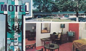 Motel L'Ermitage , SHERBROOKE , Quebec , Canada , PU-1986