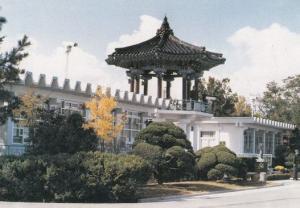 Freedom Army Korea Red Cross House Korean Military Postcard