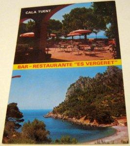 Spain Mallorca Cala Tuent Bar Restaurante es Vergeret 1062 Fotoperator - unposte