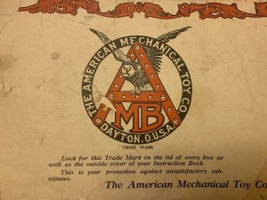 Orig 1916 American Model Builder, American Mechanical Toy Dayton Ohio Catalog