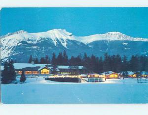 Unused Pre-1980 LODGE SCENE Jasper Park Lodge Alberta AB J6757-13